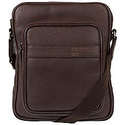 Portobello W11 - Hickory 'Erikkson' buffalo leather dispatch bag