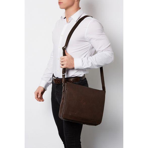 bag Hickory messenger leather Portobello W11 buffalo 'Blake' wZ4nZxC6Aq