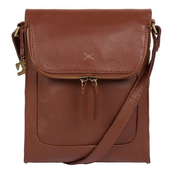 body Stitch cross leather handcrafted bag 'Sophia' by Made Cognac Pn0f0g