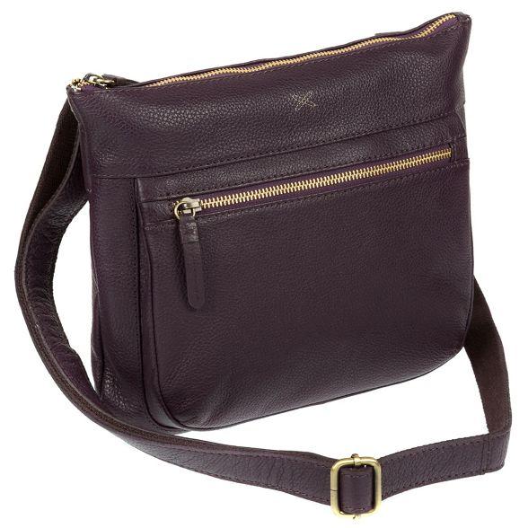Plum bag Made cross 'Victoria' Stitch by body handmade leather wEzzOaqx