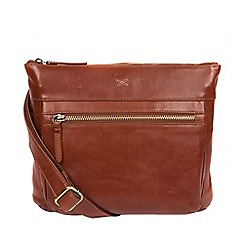 bcc20817d033 Made by Stitch - Whiskey  Victoria  leather cross-body bag