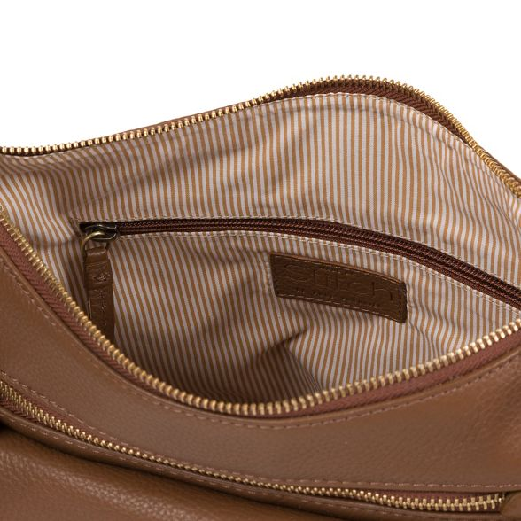 tan leather handmade 'Laura' Made by Stitch Dark bag PTz6cwAq