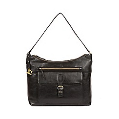Made by Stitch - Ebony  Laura  handmade leather shoulder bag b6abe4b315a23