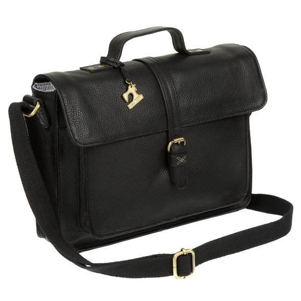 'Faith' leather satchel by handmade Made Black Stitch qfx0wx7C