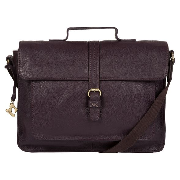 leather 'Faith' satchel Plum Stitch handcrafted by Made XpqwZn