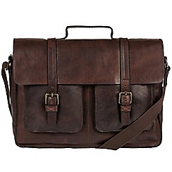 Made by Stitch - Malt 'Garsdale' handcrafted leather laptop satchel