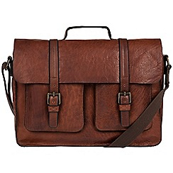 Made by Stitch - Treacle 'Garsdale' handcrafted leather laptop satchel