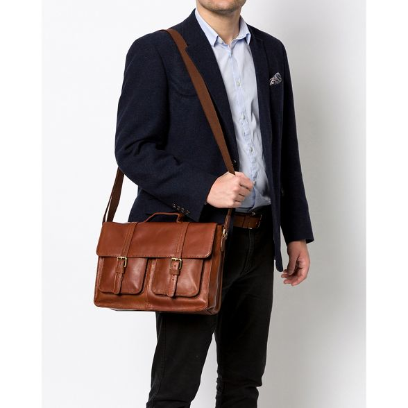 handcrafted Treacle leather Stitch 'Garsdale' Made by satchel wPqUZZ