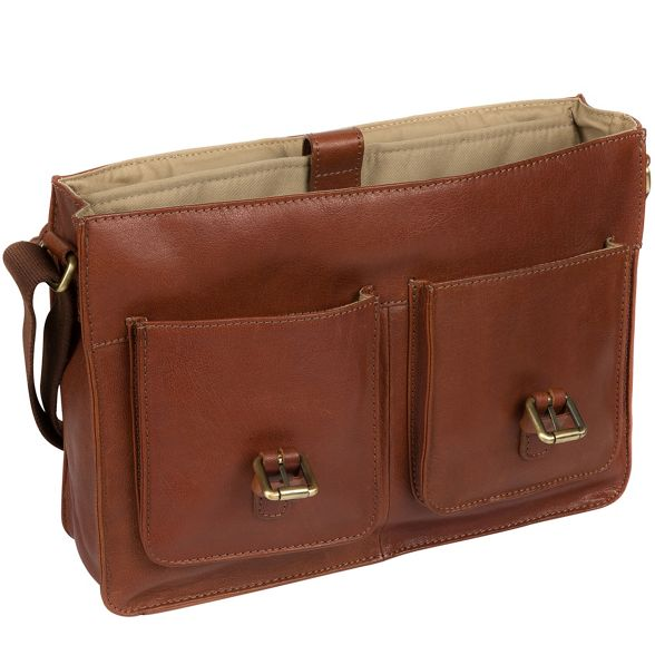 satchel Treacle by leather 'Garsdale' Made Stitch handcrafted qPSxFA