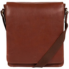 Made by Stitch - Treacle 'Brampton' handmade leather tablet bag