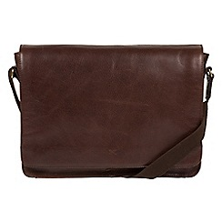 Made by Stitch - Malt 'Tom' handmade buffalo leather messenger bag
