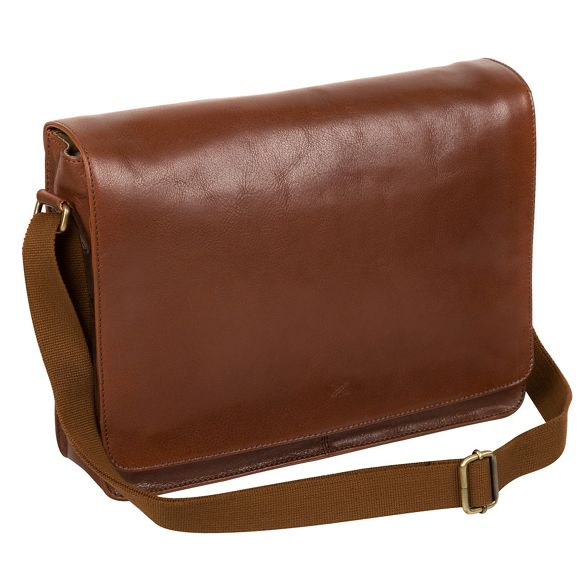 handmade 'Tom' messenger Made Treacle leather by Stitch bag buffalo xIwIt