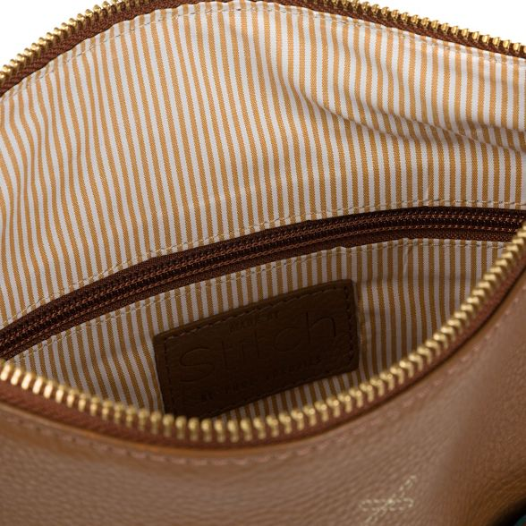 bag Made leather 'Essie' by Dark Stitch handmade tan Z0wBZqxC