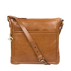 Made by Stitch - Saddle 'Essie' handmade leather cross-body bag
