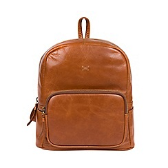 Made by Stitch - Bourbon  Greer  handcrafted leather backpack b9e3b75cb3