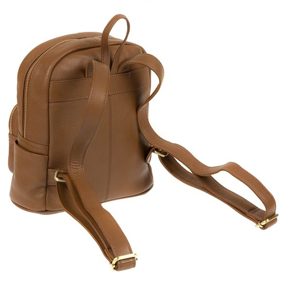 backpack Dark tan Stitch by 'Greer' Made handmade leather 1wE0n