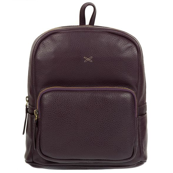 leather Stitch by Plum Made 'Greer' backpack handmade H1qwgx