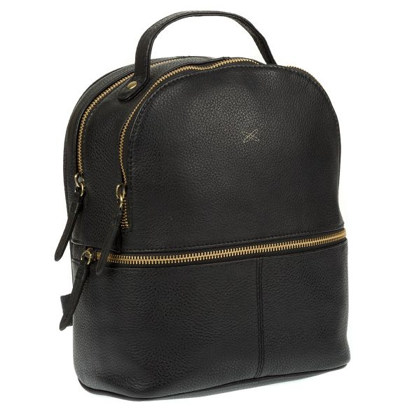backpack handmade 'Viva' Made leather Black Stitch by xwYTfqFa