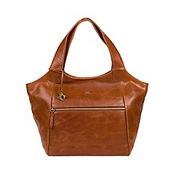 Made by Stitch - Bourbon 'Imani' handmade leather shoulder bag