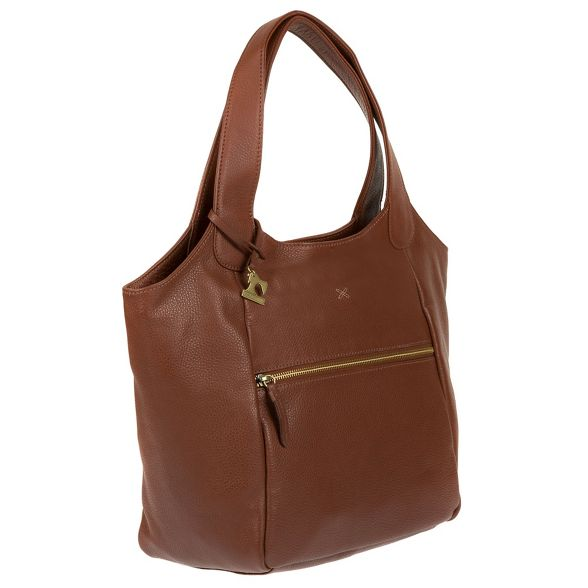 by handmade leather bag shoulder 'Imani' Stitch Cognac Made dp8ff