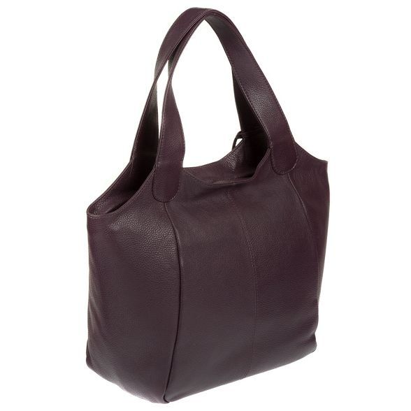 bag leather shoulder Plum 'Imani' Stitch handmade by Made ZYxwPq0Xnn