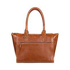 Made by Stitch - Bourbon 'Quinn' handmade leather tote bag