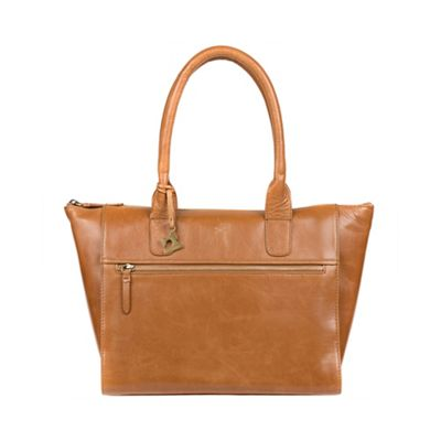 0bc487b73029 Made by Stitch - Saddle  Quinn  handmade leather tote bag