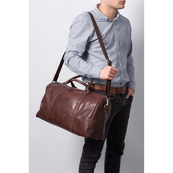buffalo Made 'Konan' Stitch bag handmade leather Malt by messenger rvvAwqX