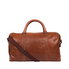 Made by Stitch - Treacle 'Konan' leather handcrafted holdall
