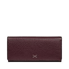 Made by Stitch - Purple 'Vivian' Leather RFID Purse