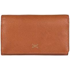 Made by Stitch - Cognac 'Jennie' handmade leather RFID purse