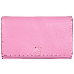 Made by Stitch - Pink 'Jennie' handmade leather RFID purse
