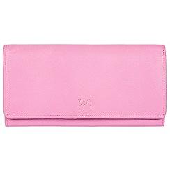 Made by Stitch - Pink 'Karen' handmade leather RFID purse