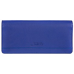 Made by Stitch - Royal Blue 'Lindale' handmade leather RFID purse