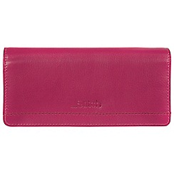 Made by Stitch - Sangria 'Lindale' handmade leather RFID purse