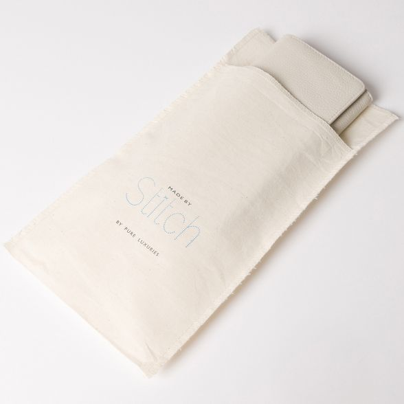 RFID leather Made 'Lana' by Stitch purse White Vintage handcrafted wx0xRaOv