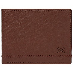 Made by Stitch - Cognac 'Colthouse' leather RFID Card wallet