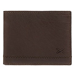 Made by Stitch - Dark Brown 'Colthouse' leather RFID Card wallet