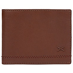 Made by Stitch - Cognac 'Kirkstone' leather RFID wallet