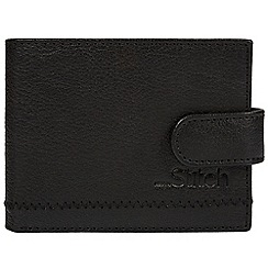 Made by Stitch - Black 'Storrs' natural leather RFID wallet
