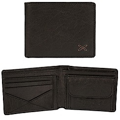Made by Stitch - Black 'Hawkshead' handcrafted leather RFID wallet
