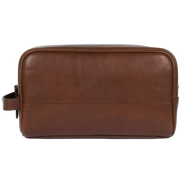 leather 'Bowfell' Stitch by washbag Treacle handcrafted Made w8aXnqFn
