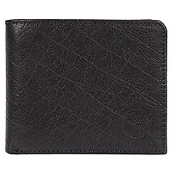 Conkca London - Black 'Jefferson' genuine leather RFID wallet