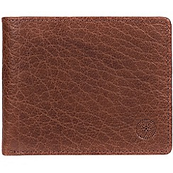 Conkca London - Tan 'Anders' handcrafted leather wallet