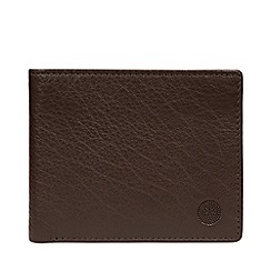 Conkca London - Dark Brown 'Cain' Leather RFID Wallet
