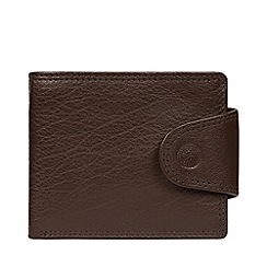 Conkca London - Dark Brown 'Dunbar' Leather RFID Wallet