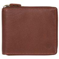93ae3716861 Conkca London - Conker brown  Morrison  zip round leather wallet