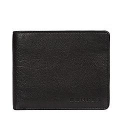 Conkca London - Black 'Conan' leather bi-fold wallet