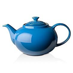 Le Creuset - Marseille blue stoneware classic teapot