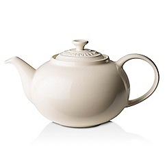 Le Creuset - Cream stoneware classic teapot